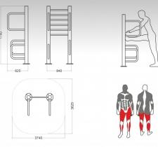 tip-9157-istezanje-nogu-sprava-za-vanjski-fitnes_