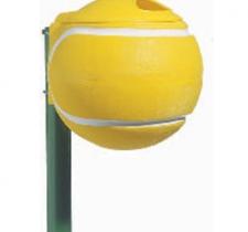 Koš za smeće  -  tenis lopta